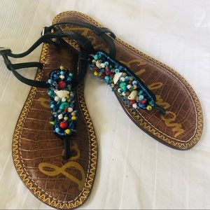 Sam Edelman Gabrielle Sandal with beads 6.5